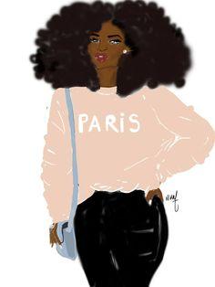 Illustration signed by Nicholle Kobi