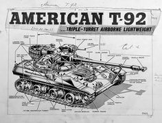 T92 Light Tank Features
