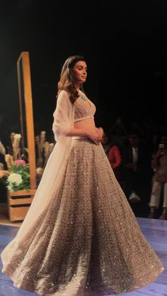 Diana Penty Photos from Lakme Fashion Week: Diana Penty is a sight to behold as she walks the ramp for Ridhi Mehra at LFW 2019 Wedding Dresses For Girls, Indian Wedding Outfits, Bridal Outfits, Indian Outfits, Bridal Dresses, Indian Attire, Indian Wear, Red Lehenga, Indian Bridal Lehenga