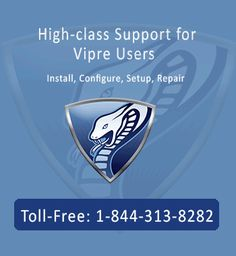 """If you are Vipre users you can now obtain the Vipre antivirus support offered by Vipre Antivirus technical support number. Their helpline number 1844-313-8282 is available 24 hours for US and Canada based customers where problems are settled through latest technology known as """"remote access technology""""."""