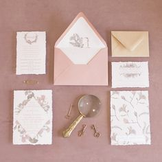 Dusty Rose Plush Velvet backdrop on the beautiful pink floral invitations at Dayton Valley Golf Club. Shot by Amy K Graves Photography