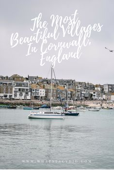 When it comes to Cornwall, it's unspoilt villages are where this English county really shines. Here is a guide to the most beautiful villages in Cornwall, which hopefully you will be adding to your list to explore! Europe Destinations, Europe Travel Guide, Travel Guides, Travelling Europe, Scotland Travel, Ireland Travel, Cool Places To Visit, Places To Go, Overseas Travel