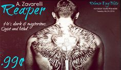 ♥Enter the #giveaway for a chance to win a $20 GC♥ StarAngels' Reviews: Release Blitz ♥ Reaper by A. Zavarelli ♥ #giveaway...