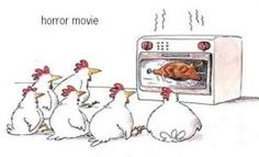 Gary Larson's Far Side Cartoons:  Horror Flick Matinee / Rotisserie