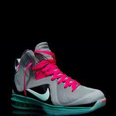 100% authentic 5d398 ab6ef South Beach Lebrons Nike Heels, Nike Boots, Lebron 9, Lebron James, Nike