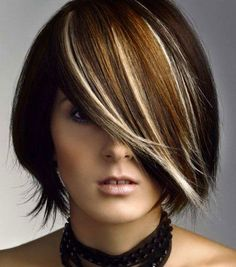 Two Tone Hair Color | trendy hair, you must try spiky pixie haircut with blonde hair color ...