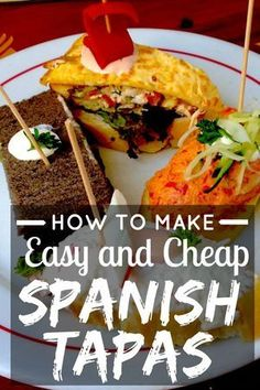 Tapas are small dishes served with drinks many places is Spain. Learn how to make your own traditional tapas. It is surprisingly easy and cheap! | devourtours.com