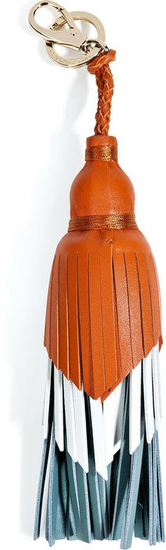 Anya Hindmarch Leather Tassel Keychain on shopstyle.com