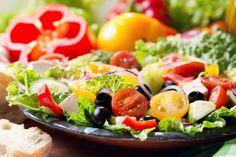 Une recette similaire à celle de la grande chaîne Olive Garden...la salade verte