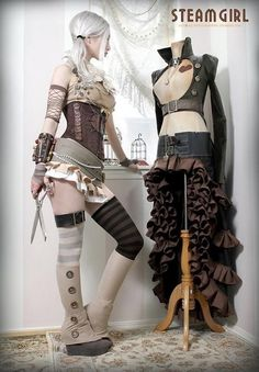 Kato, Steampunk Couture Fashion designer & model