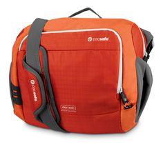 Fire-like Sunset Red Venturesafe 350 GII shoulder bag!