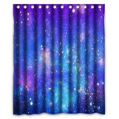 Amazon.com: HUARDA Galaxy Polyester Fabric Bathroom Shower Curtain: Home & Kitchen