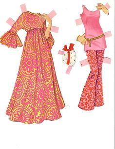Bonecas de Papel: Barbie e Ken