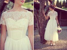 Lovely vintage lace dress
