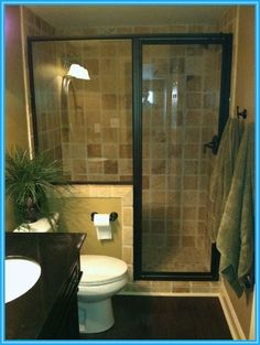 Small Bathroom Design with Shower Only Photo
