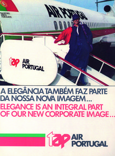 Nova imagem da TAP, lançada no final da década de TAP's new look, launched by the end of the Portugal, Commercial Aircraft, Cabin Crew, Airplanes, Aviation, Nova, Exterior, Old Ads, Cartoon Wallpaper