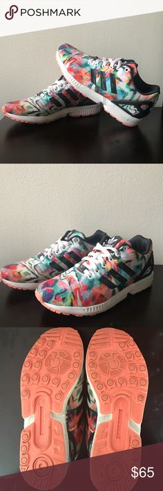 Adidas ZX Flux Worn Once  Authentic  Super Comfy adidas Shoes Athletic Shoes