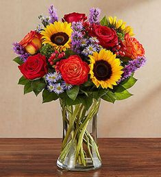 Bring the serene beauty of autumn to someone you care about with our rustic, country-inspired arrangement. Filled with a gathering of fresh-picked blooms in brilliant colors, this charming gift is guaranteed to surprise and delight. 800 Flowers, Fall Flowers, Summer Flowers, Bright Flowers, Fall Floral Arrangements, Beautiful Flower Arrangements, Beautiful Flowers, Pumpkin Arrangements, November Flower