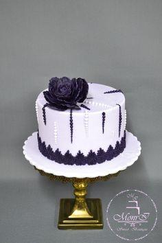 Purple cake by Mina Avramova