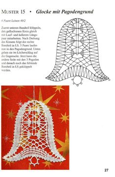 """""""Рождественские мотивы"""" Bobbin Lace Patterns, Crochet Patterns, Polly Polly, Romanian Lace, Bobbin Lacemaking, Lace Art, Lace Jewelry, Needle Lace, Lace Making"""