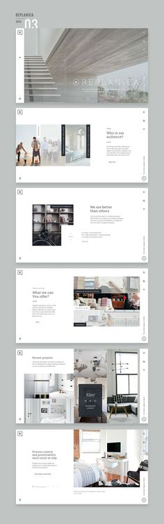 Website Design 2015/16 on Behance: