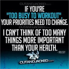 priorities except your faith