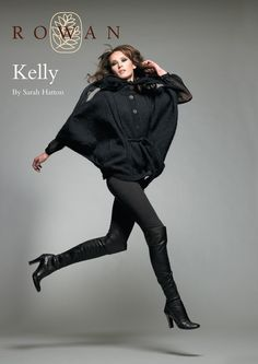 Kelly Batwing Jacket in Rowan Kid Classic | Knitting Patterns | LoveKnitting