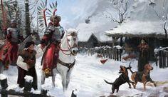 Piotr Arendzikowski Polish Hussary