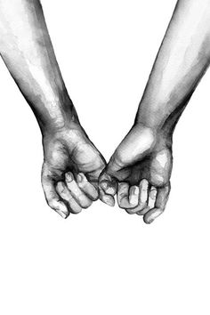 Watercolor Hands Poster in Group Poster / Sizes and .- Watercolor Hands Poster in der Gruppe Poster / Größen und Formate / Watercolor Hands Poster in Group Poster / Sizes and Formats / at Desenio AB - Black And White Posters, Black And White Canvas, Black And White Love, Black And White Prints, White Style, Black Art, Poster Shop, Poster Prints, Poster Poster