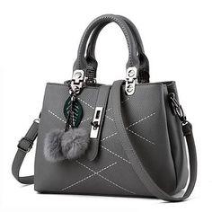 DIZHIGE Brand Fashion Fur Women Bag #handbags Women Famous Designer Women Leather Handbags Luxury Ladies Hand Bags Shoulder Sac