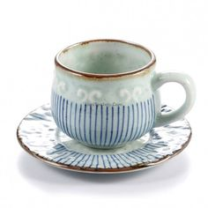 Good teas can refresh your body, Japanese Tea Cup With Handle And Saucer can color your life, come here to let your body refresh and life become colorful! Japanese Tea Cups, Best Tea, Handle, French, Concert, Tableware, Dinnerware, French People, Tablewares