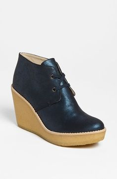 Stella McCartney Wedge Boot ....i would bet good money this is vegan leather.