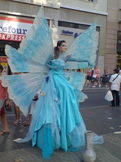 Blue fairy and I think my husband would kill me. Haha