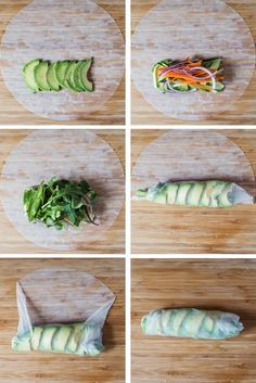 Light and refreshing Summer Rolls - served with Chile-Lime Dipping Sauce, they're perfect for an appetizer or a light lunch! Light and refreshing Summer Rolls - served with Chile-Lime Dipping Sauce, they're perfect for an appetizer or a light lunch! Lunch Recipes, Whole Food Recipes, Keto Recipes, Vegetarian Recipes, Cooking Recipes, Healthy Recipes, Cucumber Recipes, Grilling Recipes, Cooking Tips
