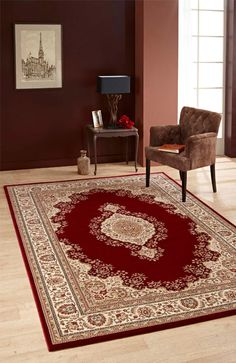 Like a bold pattern, but not too OTT? How about a nice rug as a focal point, on a plain vinyl, laminate, carpet, wood, or ceramic floor? Simple and elegant! For more flooring ideas visit http://www.huddersfieldcarpetclearance.co.uk/