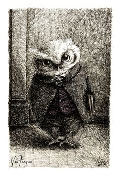 [Animalbum] The Owls - Unlike Father Like Owl by Via Fang - This is so cute :)