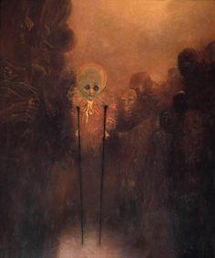 Zdzislaw Beksinski Color & Light