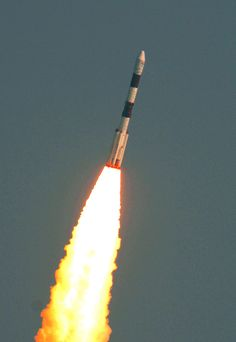The Indian Space Research Organization (ISRO) launched 104 satellites into orbit aboard the Polar Satellite Launch Vehicle on Feb. 14, 2017, setting a new record for the most satellites launched simultaneously on one rocket.
