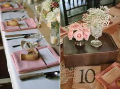 pink DIY wedding | Joe+Kathrina Photography