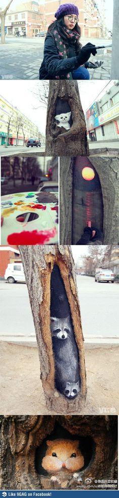 나무속 그림, 나무속 세상이 다양.jpg