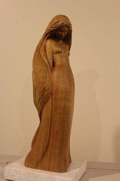 Wood Sculpture Woman