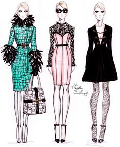 Hayden Williams Fashion Illustrations: December 2011