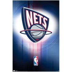 Amazon.com: New Jersey Nets Poster Team Logo Nba Basketball 1154 Poster Print, 22x34: Home & Kitchen