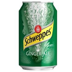 Schweppes Ginger Ale - my mom always gave me ginger ale when I was sick and that always made me happy :)