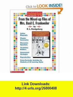 From the mixed up files of mrs basil e frankweiler novel study literature guide from the mixed up files of mrs basil e frankweiler fandeluxe Choice Image