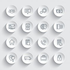 App Ui Design, Mobile App Design, Icon Design, Desing App, Web Design, Powerpoint Design Templates, Creative Powerpoint, Business Icon, Business Logo