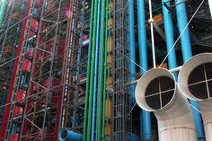 Renzo Piano and Richard Rogers  Centre Pompidou Paris