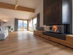 Fireplace RIII from Rüegg Cheminée Schweiz AG interior design ideas Living Room Decor Fireplace, Home Fireplace, Modern Fireplace, Fireplace Design, Fireplace Ideas, Small Living Rooms, Home Living Room, Living Room Designs, Modern Lounge