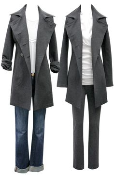 Ponte trench from CAbi Fall 2011 collection. Love!