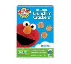Earth's Best Organic Crunchin' Crackers - Original, 5.3 Ounce (Pack of 6)